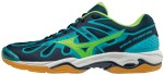 Mizuno Wave Phantom Blue Green buty do squasha