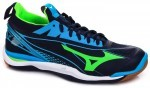 Mizuno Wave Mirage 2 Blue buty do squasha