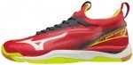Mizuno Wave Mirage 2 Red White Yellow buty do squasha