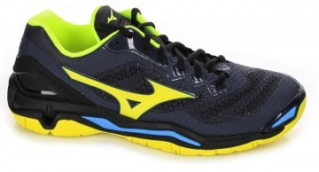 Mizuno Wave Stealth 5 Black/Yellow