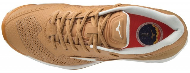 Mizuno Wave Stealth V Sheepskin / Indian Tan