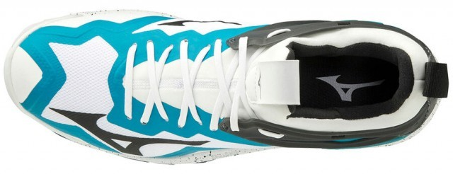 Mizuno Wave Mirage 3 White / Enamel Blue