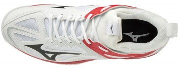 Mizuno Ghost Shadow White / Red