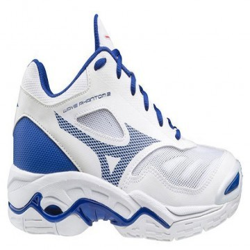 Mizuno Wave Phantom 2 White / Reflex Blue