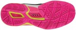 Mizuno Wave Stealth 4 Black Pink squash shoes for women