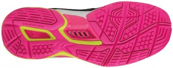 Mizuno Wave Stealth 4 Black Pink buty do squasha damskie
