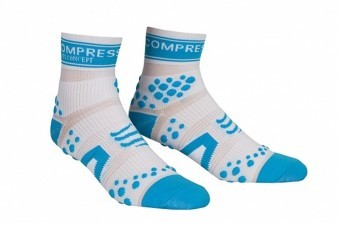 Compressport PR Socks V2.1 Run HI White/Blue