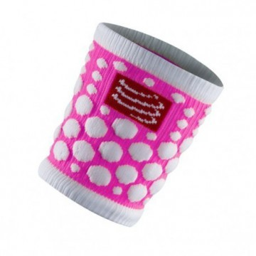 Compressport Sweat Band 3D Dots Fluo Pink 2szt
