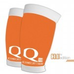 odzież kompresyjna Compressport Quad Orange