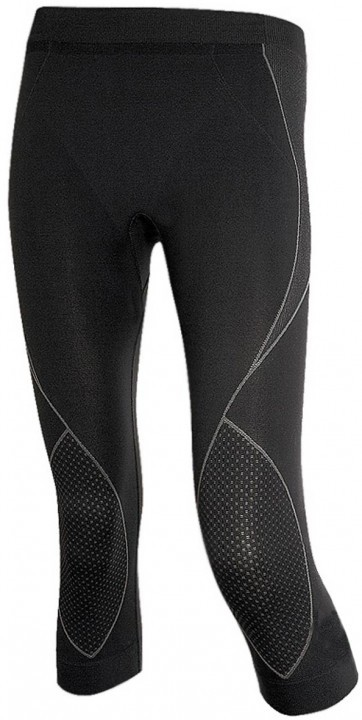 Brubeck Ladies Thermo Pants 3/4 Czarne