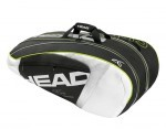 Head Djokovic 9R Supercombi Black torba do squasha