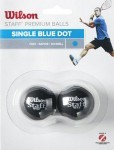 Wilson STAFF SQUASH 2-Pack BLUE 1 Kropka piłka do squasha