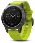 zegarek sportowy Garmin Fenix 5 HRM Elevate Slate Gray / Yellow Band