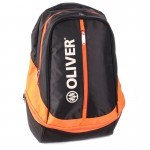 Olivier Backpack Black/Orange plecak