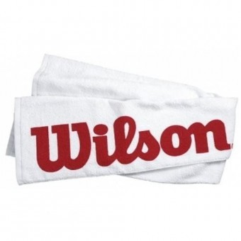 Wilson COURT TOWEL White-Red