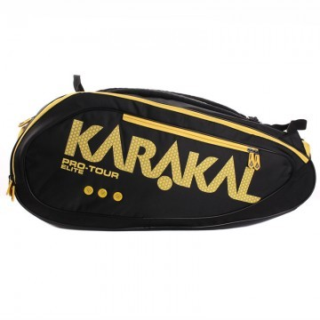 Karakal Pro Tour Elite 2016 12R Black / Yellow