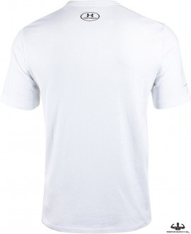 Under Armour Ali Sportstyle Stack Tee White