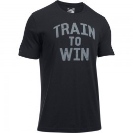 Under Armour Train To Win SS T Black