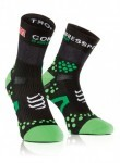 odzież kompresyjna Compressport PR Socks V2.1 Run HI Black/Gren
