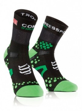 odzie� kompresyjna Compressport PR Socks V2.1 Run HI Black/Gren