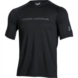 Under Armour UA Scope Ventilated SS T Black