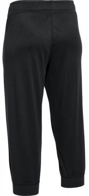 Under Armour Tech Capri Solid Black