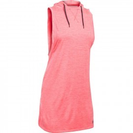 Under Armour Tech Hooded Tunic Twist Pink