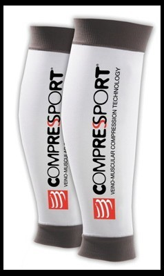 Compressport Calf R2 White