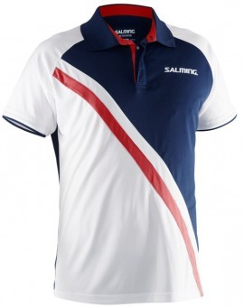 Salming Koszulka Performance Polo WH-BL