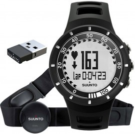 Suunto Quest Black + HR pas do mierzenia tętna
