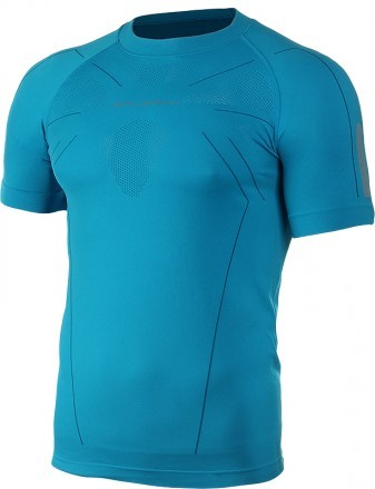 Brubeck Athletic Shirt Lazur