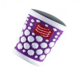 Compressport Sweat Band 3D Dots Fluo Purple 2szt