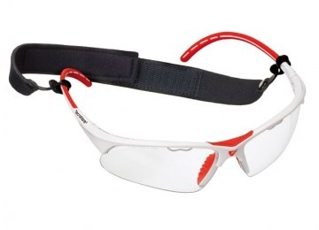 Tecnifibre Protection Glasses Białe