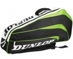 Dunlop Biomimetic 3R Zielona torba do squasha