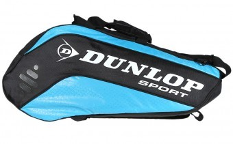 Dunlop Biomimetic Tour 10RKT Niebieska torba do squasha